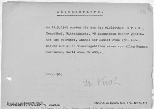 Landesarchiv Berlin, C Rep. 120 Nr. 512, Bl. 313