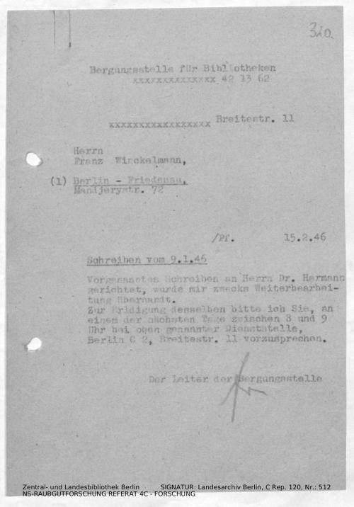 Landesarchiv Berlin, C Rep. 120 Nr. 512, Bl. 320