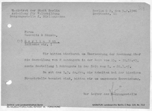 Landesarchiv Berlin, C Rep. 120 Nr. 512, Bl. 324