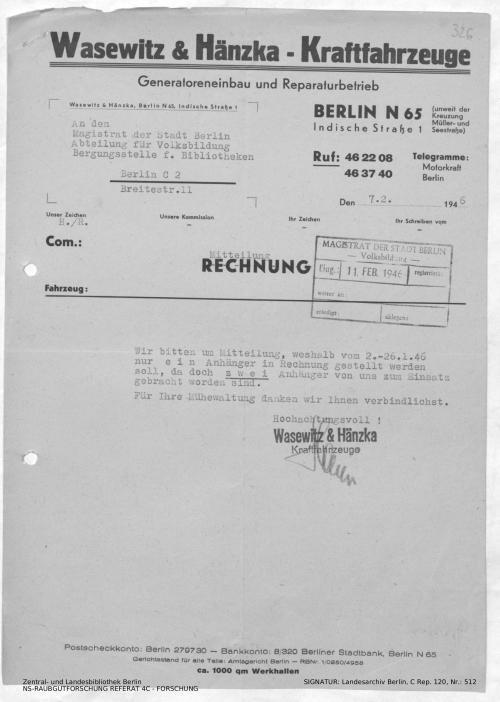 Landesarchiv Berlin, C Rep. 120 Nr. 512, Bl. 326