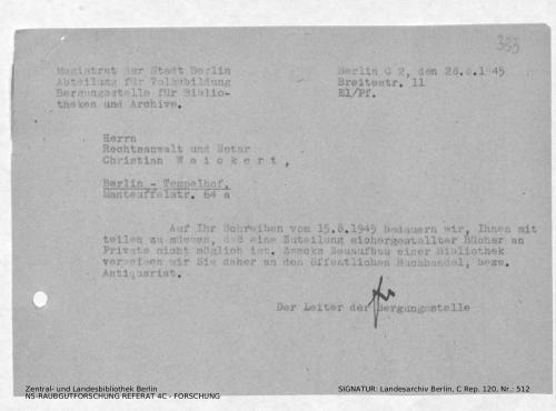 Landesarchiv Berlin, C Rep. 120 Nr. 512, Bl. 333