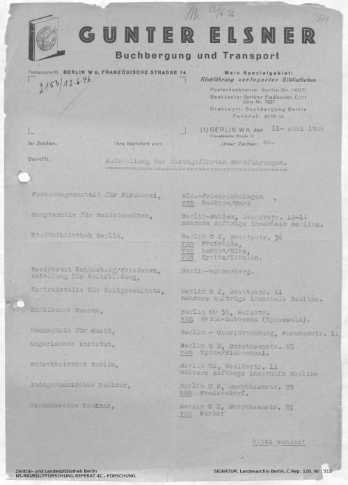 Landesarchiv Berlin, C Rep. 120 Nr. 512, Bl. 364