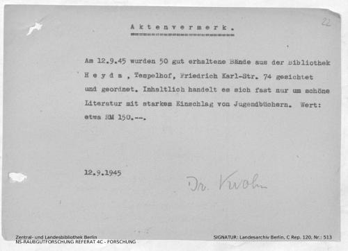 Landesarchiv Berlin, C Rep. 120 Nr. 513, Bl. 22