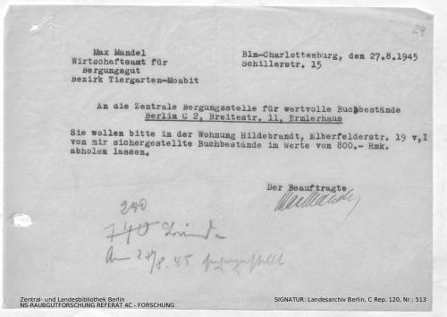 Landesarchiv Berlin, C Rep. 120 Nr. 513, Bl. 24