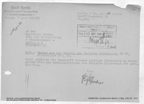 Landesarchiv Berlin, C Rep. 120 Nr. 513, Bl. 26