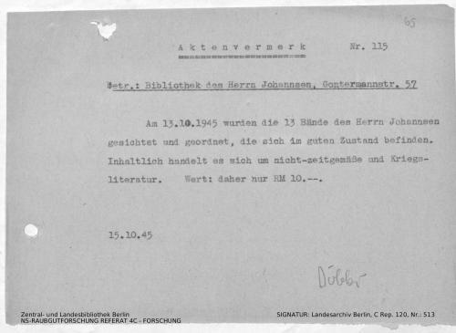 Landesarchiv Berlin, C Rep. 120 Nr. 513, Bl. 65