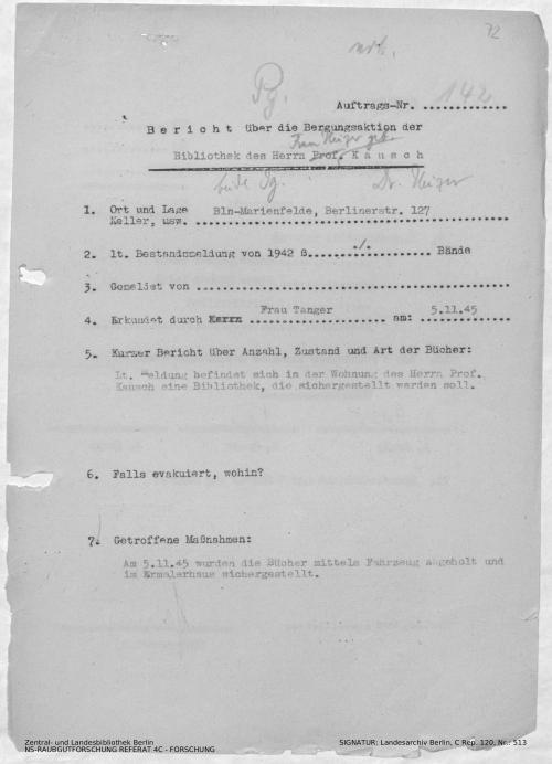 Landesarchiv Berlin, C Rep. 120 Nr. 513, Bl. 72