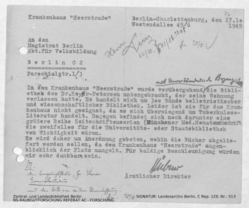 Landesarchiv Berlin, C Rep. 120 Nr. 513, Bl. 77
