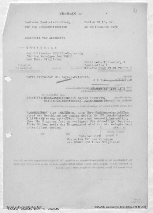 Landesarchiv Berlin, C Rep. 120 Nr. 513, Bl. 83