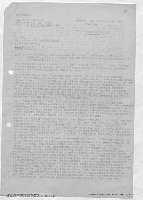 Landesarchiv Berlin, C Rep. 120 Nr. 513, Bl. 88