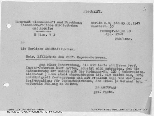 Landesarchiv Berlin, C Rep. 120 Nr. 513, Bl. 91