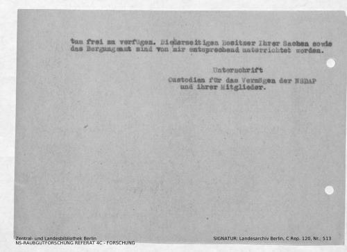 Landesarchiv Berlin, C Rep. 120 Nr. 513, Bl. 98