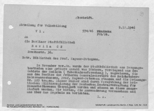 Landesarchiv Berlin, C Rep. 120 Nr. 513, Bl. 99