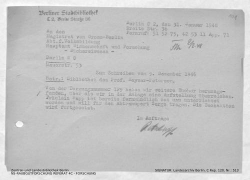 Landesarchiv Berlin, C Rep. 120 Nr. 513, Bl. 101