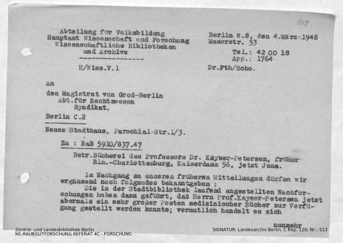Landesarchiv Berlin, C Rep. 120 Nr. 513, Bl. 108