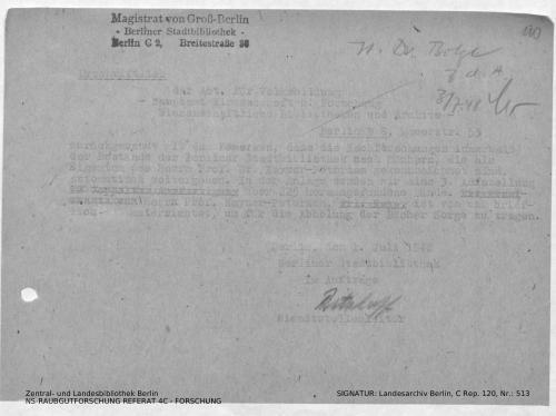 Landesarchiv Berlin, C Rep. 120 Nr. 513, Bl. 110