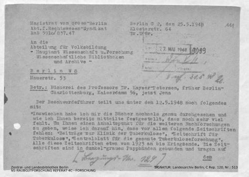Landesarchiv Berlin, C Rep. 120 Nr. 513, Bl. 111