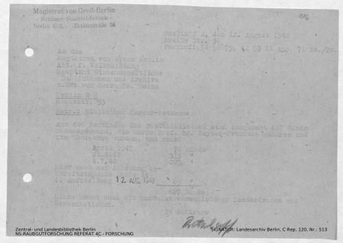 Landesarchiv Berlin, C Rep. 120 Nr. 513, Bl. 116