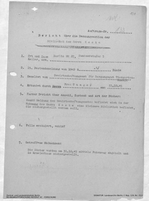 Landesarchiv Berlin, C Rep. 120 Nr. 513, Bl. 121
