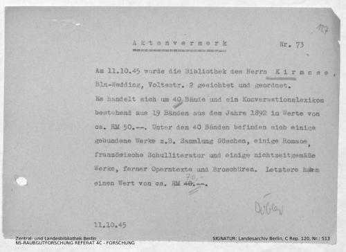 Landesarchiv Berlin, C Rep. 120 Nr. 513, Bl. 127