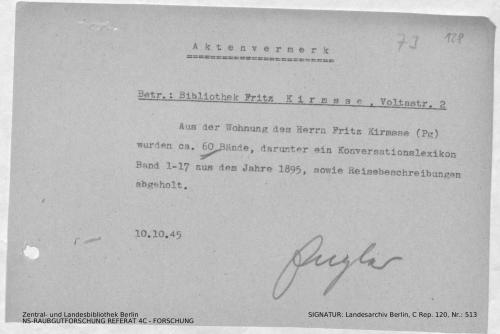 Landesarchiv Berlin, C Rep. 120 Nr. 513, Bl. 128