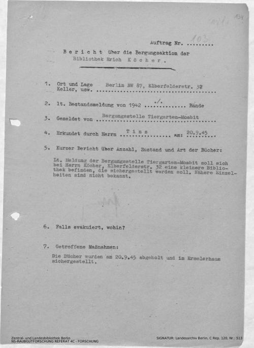 Landesarchiv Berlin, C Rep. 120 Nr. 513, Bl. 134