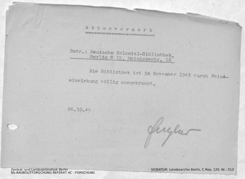 Landesarchiv Berlin, C Rep. 120 Nr. 513, Bl. 138
