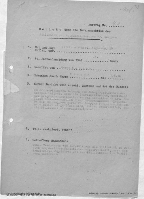 Landesarchiv Berlin, C Rep. 120 Nr. 513, Bl. 139