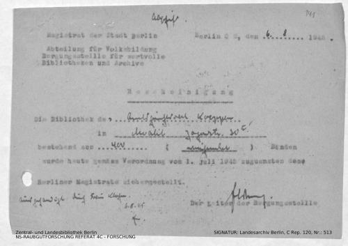 Landesarchiv Berlin, C Rep. 120 Nr. 513, Bl. 141
