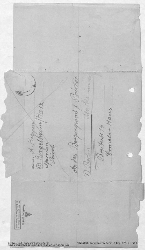 Landesarchiv Berlin, C Rep. 120 Nr. 513, Bl. 143