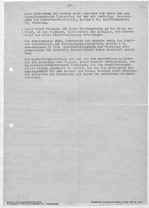 Landesarchiv Berlin, C Rep. 120 Nr. 513, Bl. 147