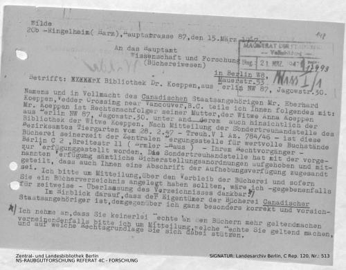 Landesarchiv Berlin, C Rep. 120 Nr. 513, Bl. 148