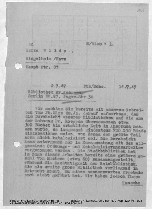 Landesarchiv Berlin, C Rep. 120 Nr. 513, Bl. 155