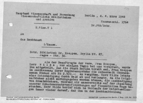 Landesarchiv Berlin, C Rep. 120 Nr. 513, Bl. 170
