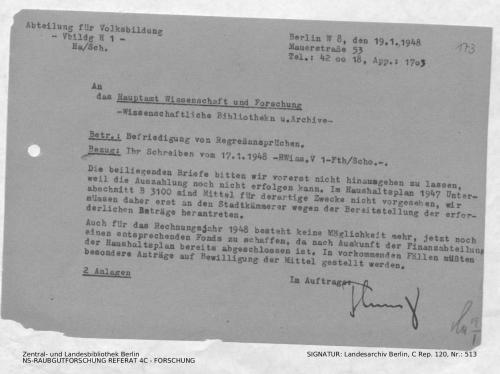 Landesarchiv Berlin, C Rep. 120 Nr. 513, Bl. 173
