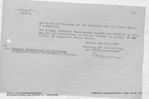 Landesarchiv Berlin, C Rep. 120 Nr. 513, Bl. 174