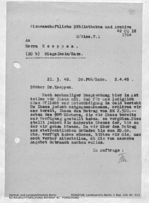 Landesarchiv Berlin, C Rep. 120 Nr. 513, Bl. 180