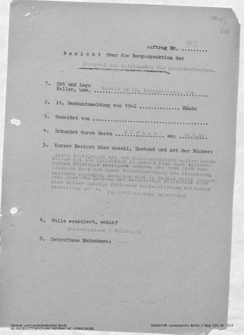 Landesarchiv Berlin, C Rep. 120 Nr. 513, Bl. 201