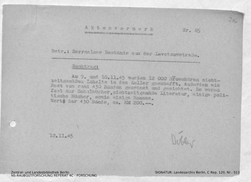 Landesarchiv Berlin, C Rep. 120 Nr. 513, Bl. 206