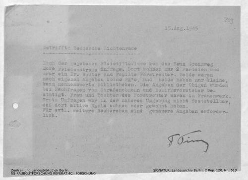 Landesarchiv Berlin, C Rep. 120 Nr. 513, Bl. 209