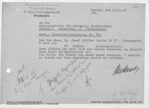 Landesarchiv Berlin, C Rep. 120 Nr. 513, Bl. 213