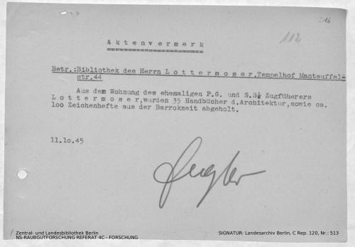 Landesarchiv Berlin, C Rep. 120 Nr. 513, Bl. 216