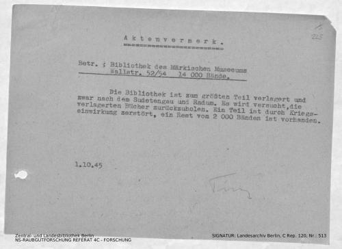 Landesarchiv Berlin, C Rep. 120 Nr. 513, Bl. 225