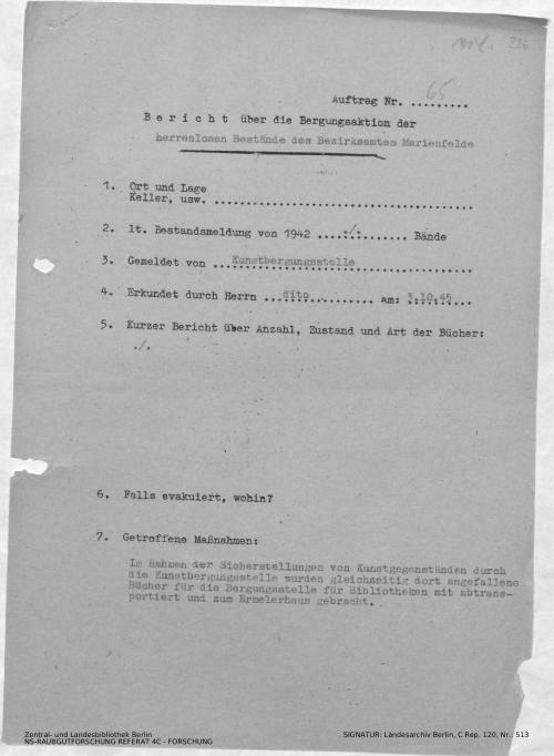 Landesarchiv Berlin, C Rep. 120 Nr. 513, Bl. 226