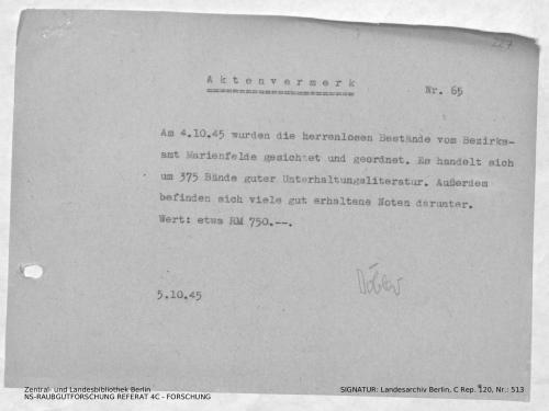 Landesarchiv Berlin, C Rep. 120 Nr. 513, Bl. 227