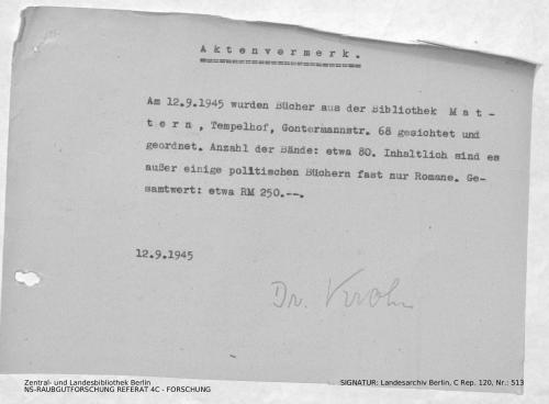 Landesarchiv Berlin, C Rep. 120 Nr. 513, Bl. 229