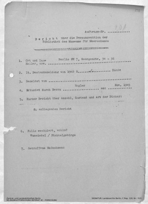 Landesarchiv Berlin, C Rep. 120 Nr. 513, Bl. 233