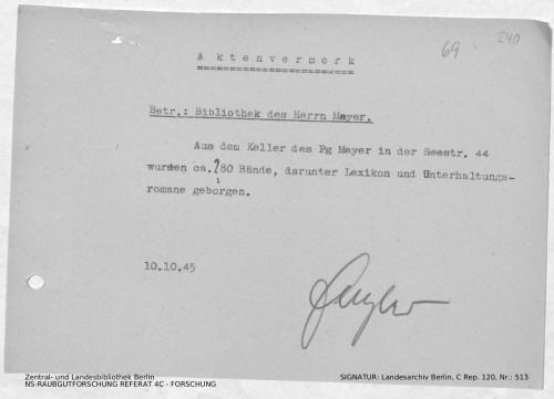 Landesarchiv Berlin, C Rep. 120 Nr. 513, Bl. 240