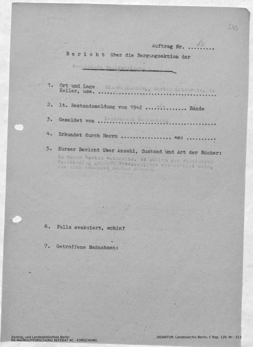 Landesarchiv Berlin, C Rep. 120 Nr. 513, Bl. 243