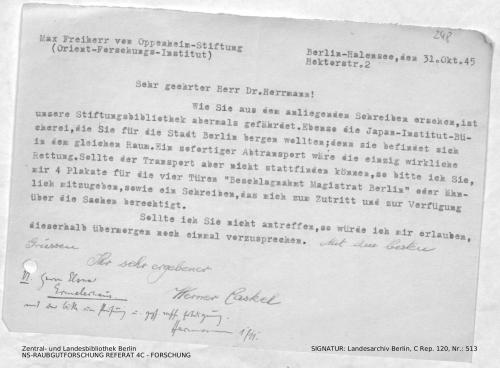 Landesarchiv Berlin, C Rep. 120 Nr. 513, Bl. 248